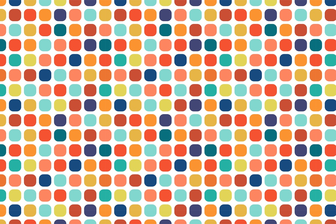 Colorful seamless patterns. example image 15