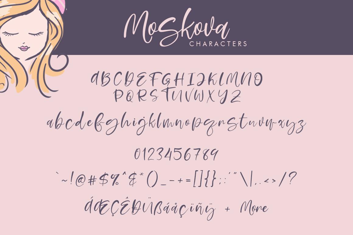 Moskova Script example image 6