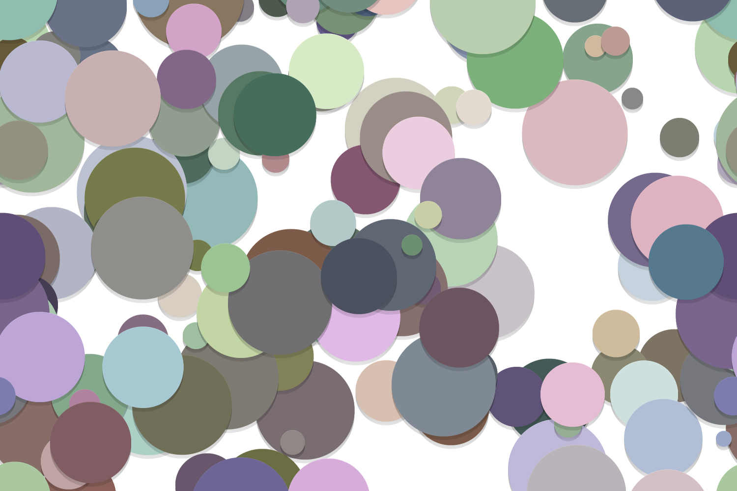 40 Seamless Circle Backgrounds (AI, EPS, JPG 5000x5000) example image 15