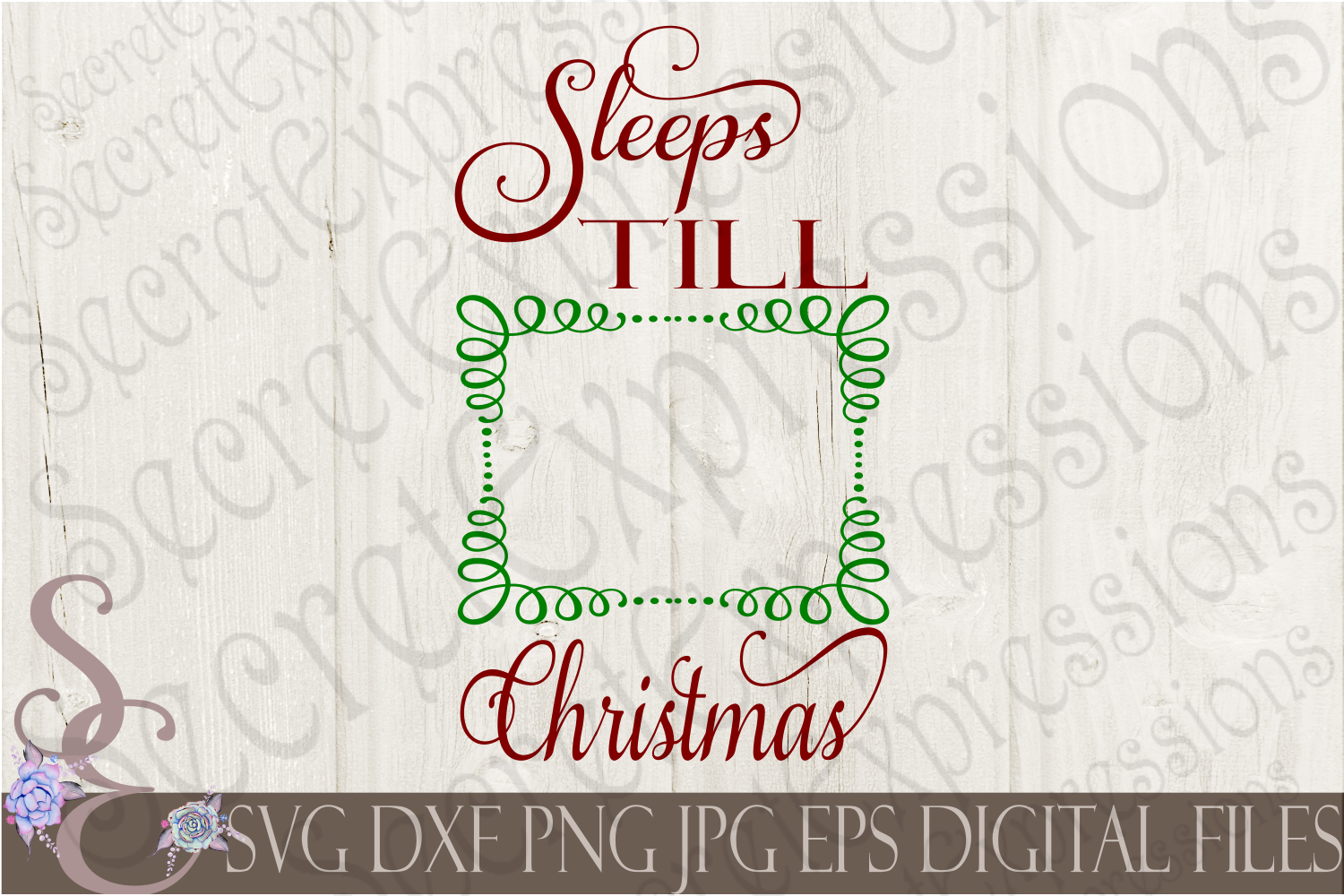 Kid Christmas Bundle 9 Designs example image 10