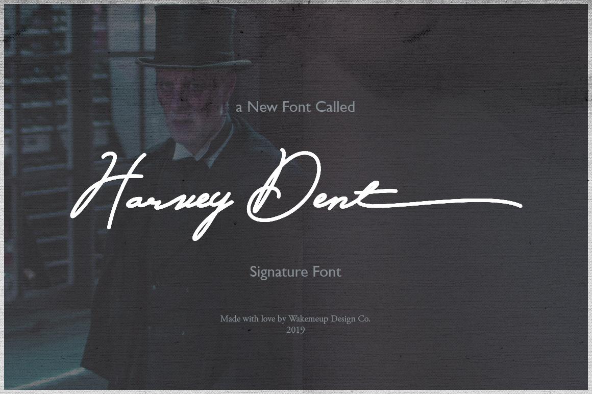 Harvey Dent Signature example image 1