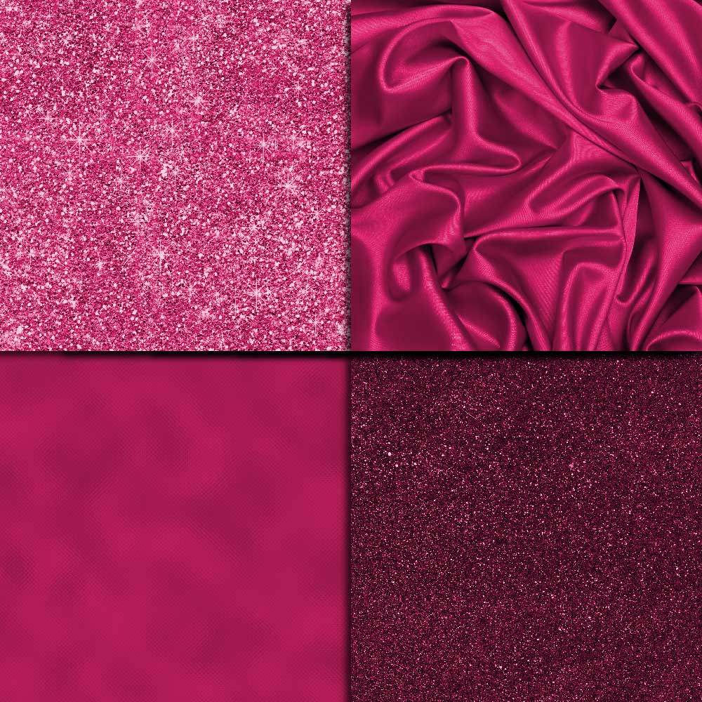 Hot Pink Textures Digital Paper example image 4