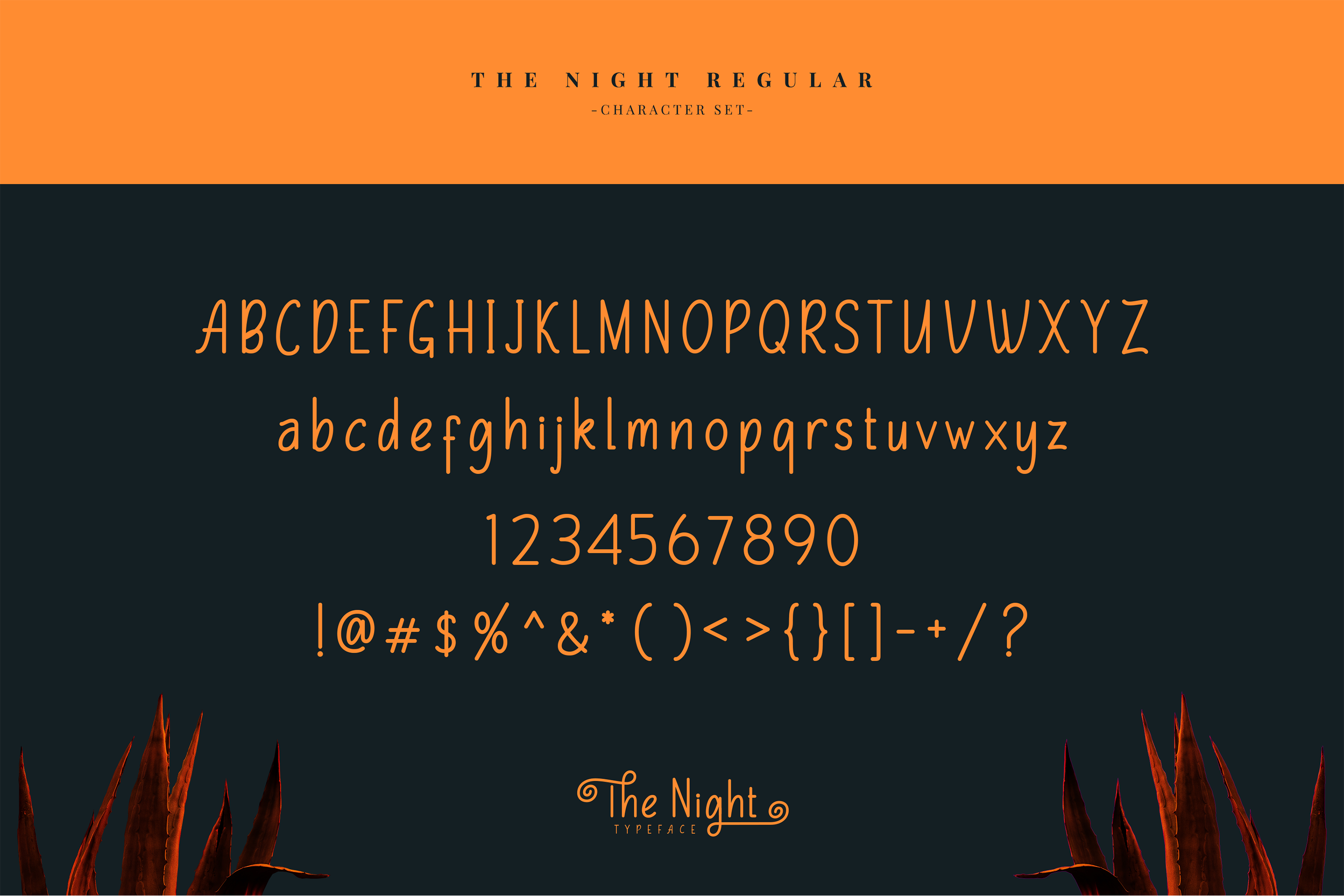 The Night Typeface example image 9
