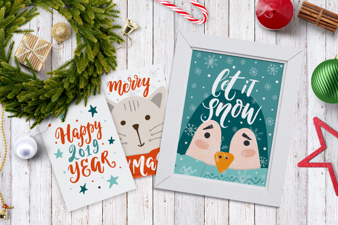 72 Christmas cards example image 9