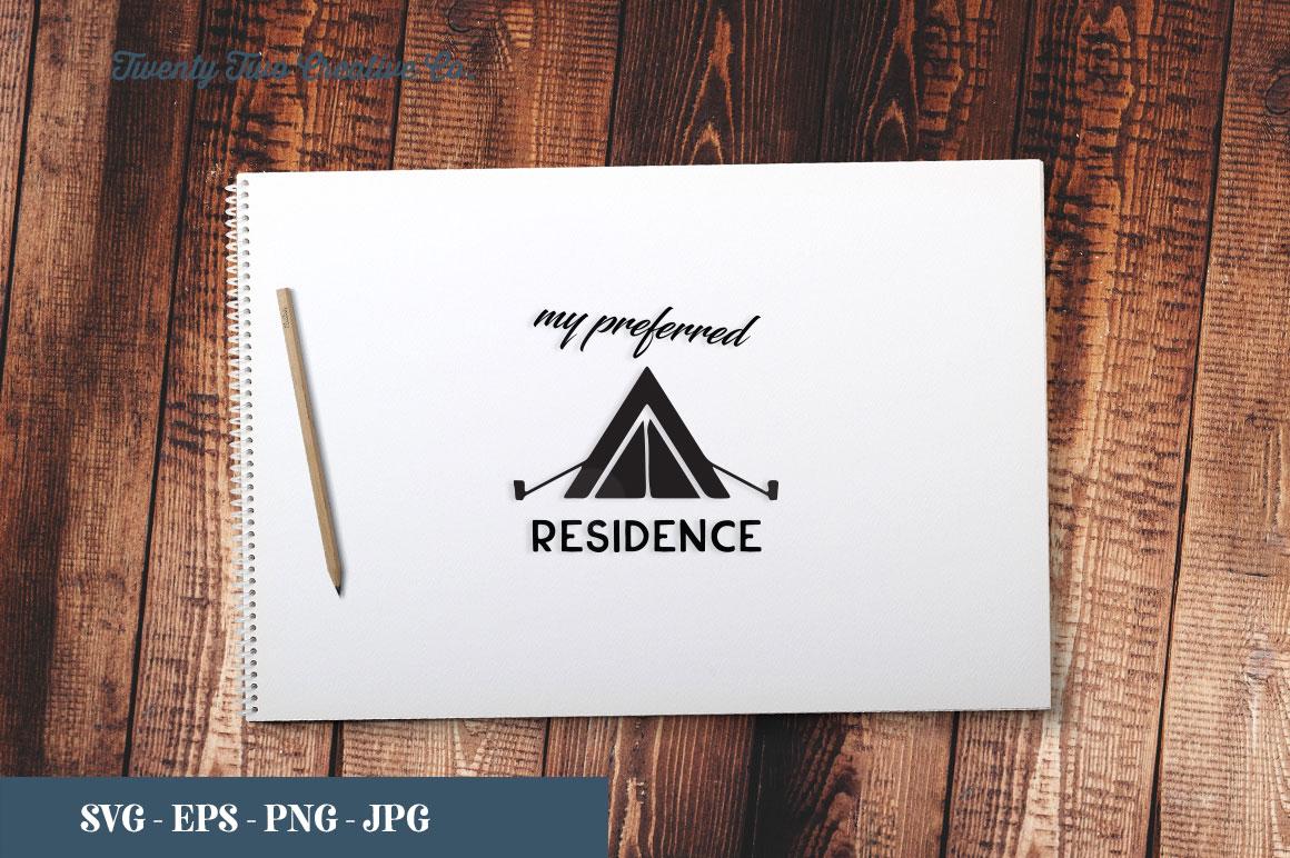 Camping SVG Bundle   SVG, EPS, PNG, JPG example image 25