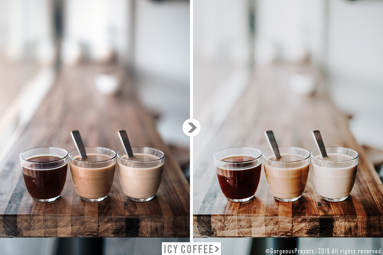 Mobile Lightroom Preset ICY COFFEE example image 5