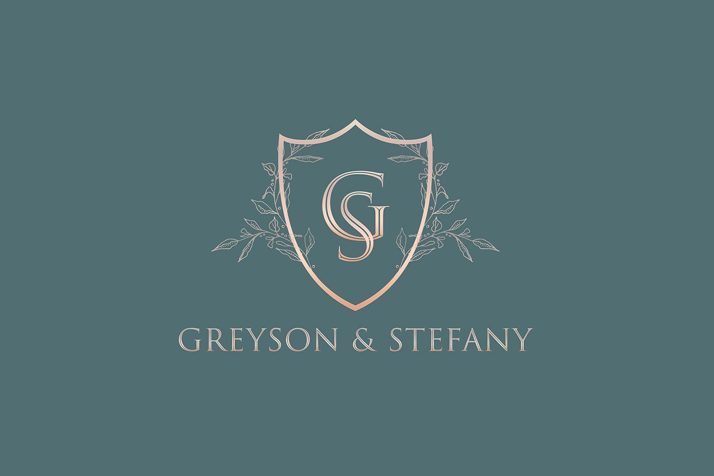 Luxury Wedding Logo example image 7