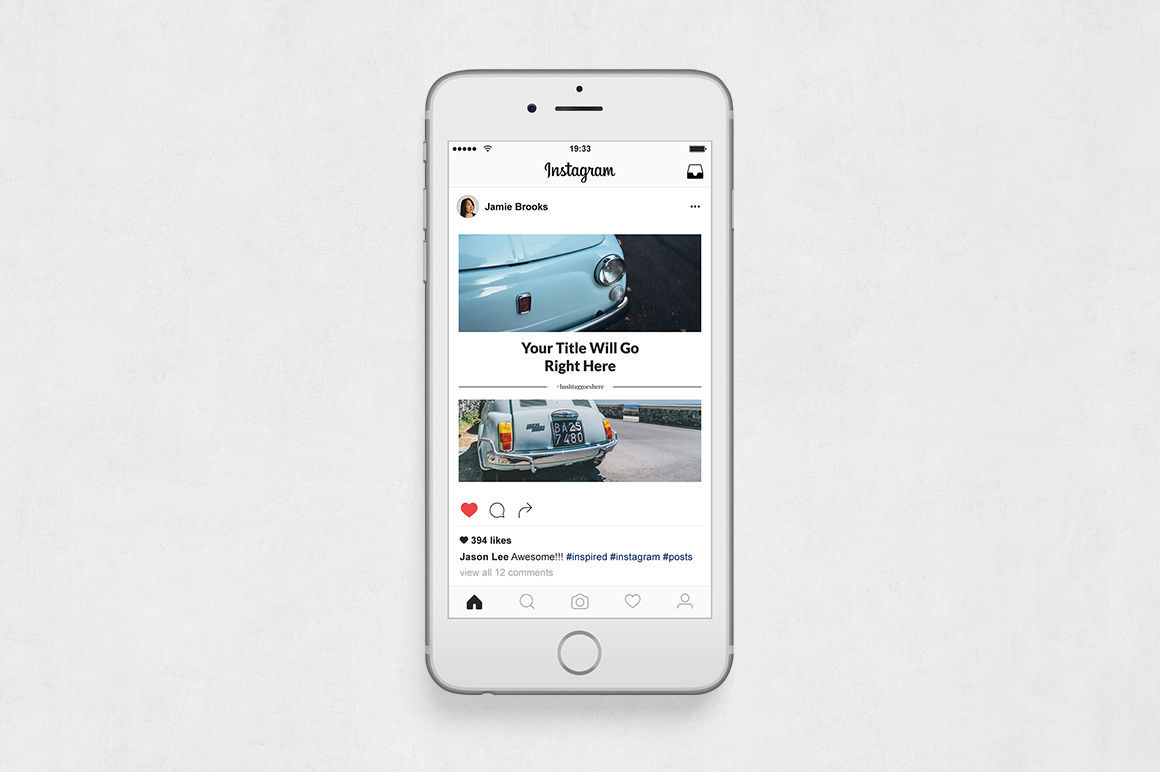 Classic Cars Instagram Posts example image 6