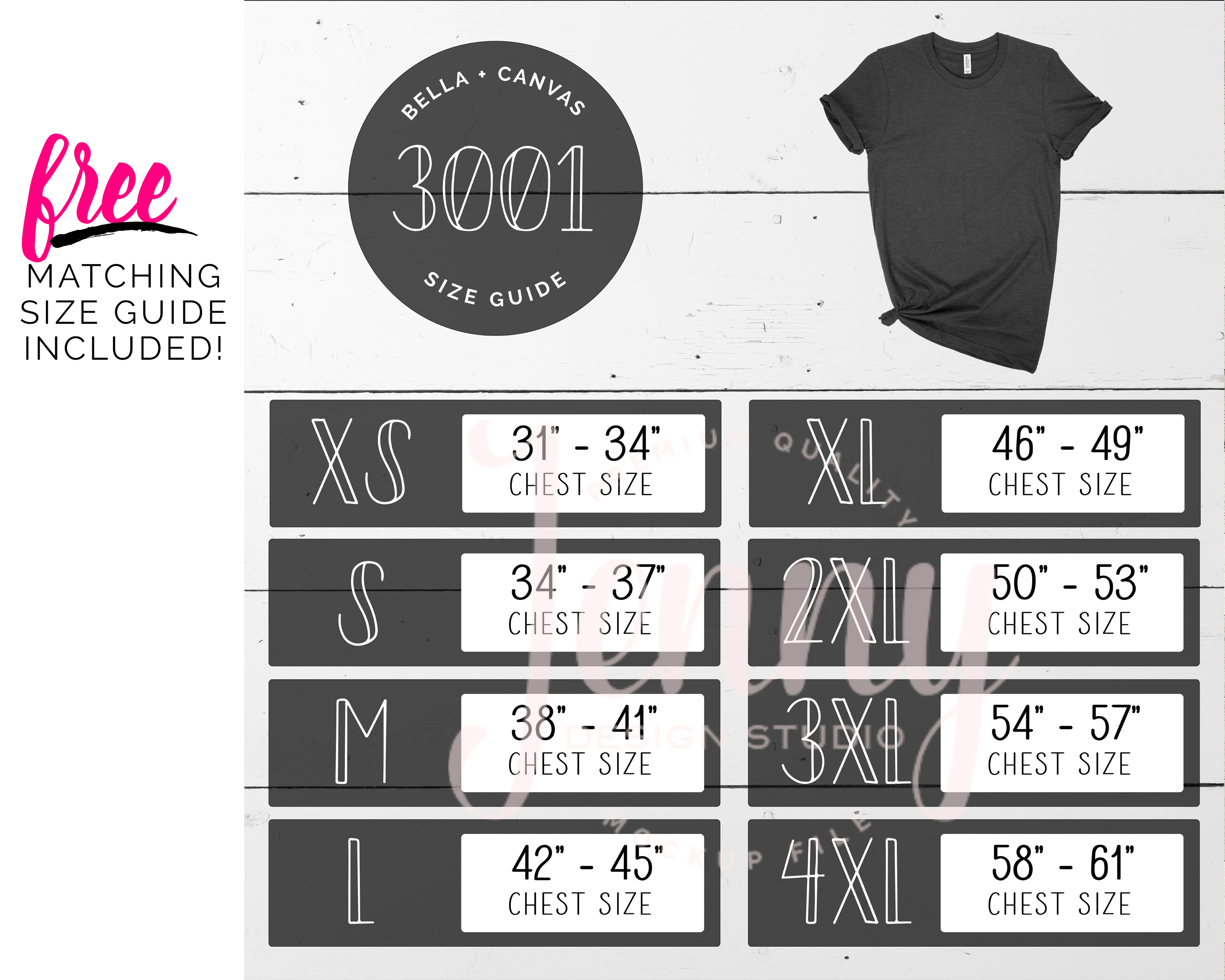 Bella Canvas 3001 Mockup Bundle, Knotted Tshirt Mockup example image 2