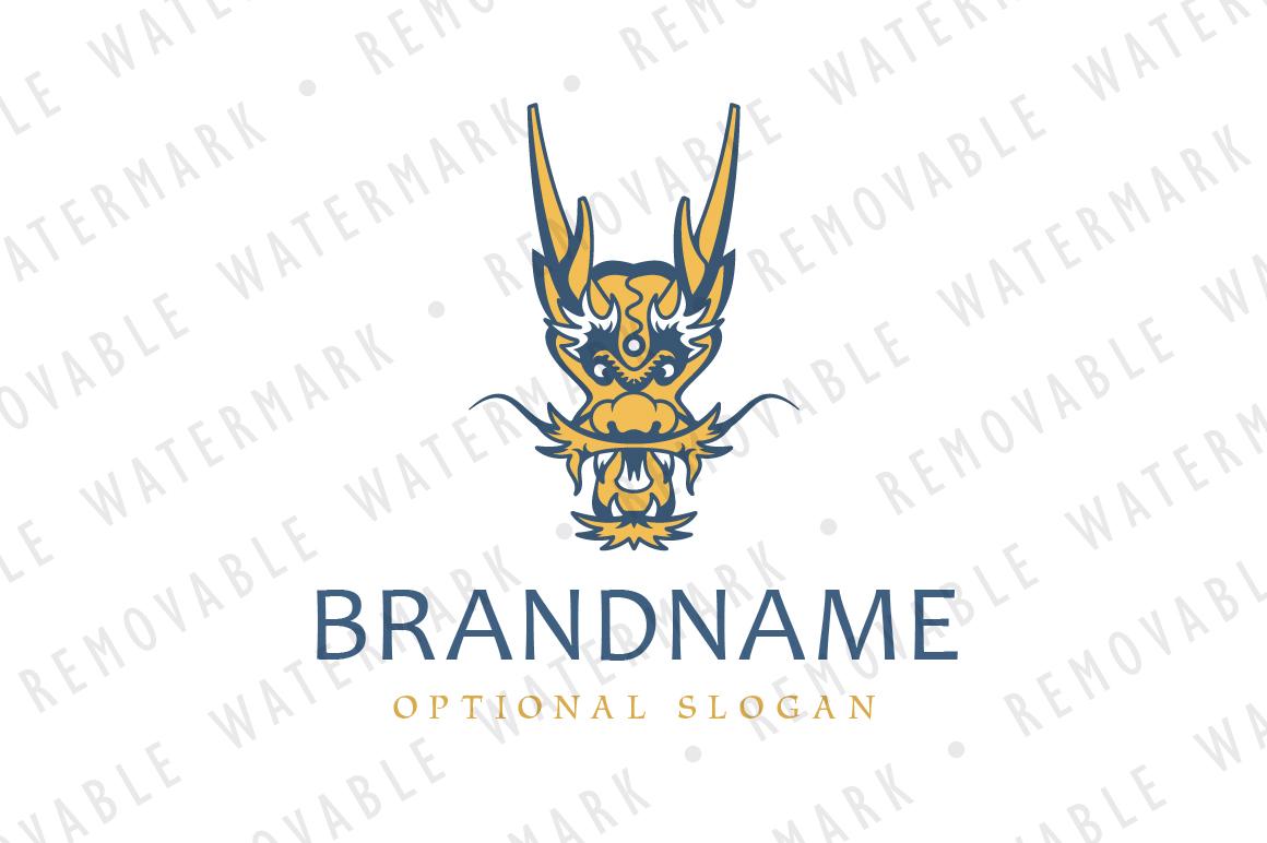 Chinese Dragon Logo example image 1