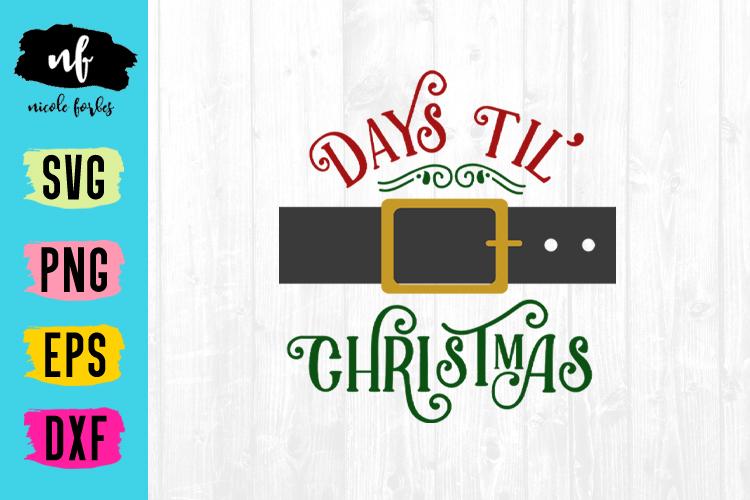 Christmas Countdown SVG Bundle example image 7