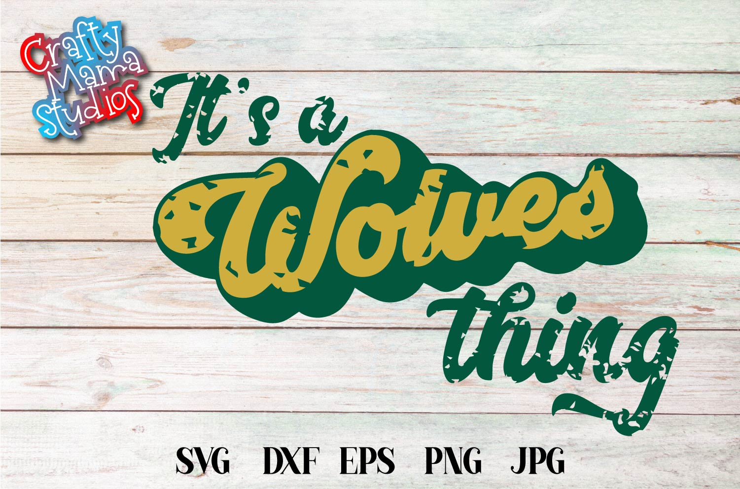 Sports SVG, It's A Wolves Thing SVG, Sports Sublimation example image 2