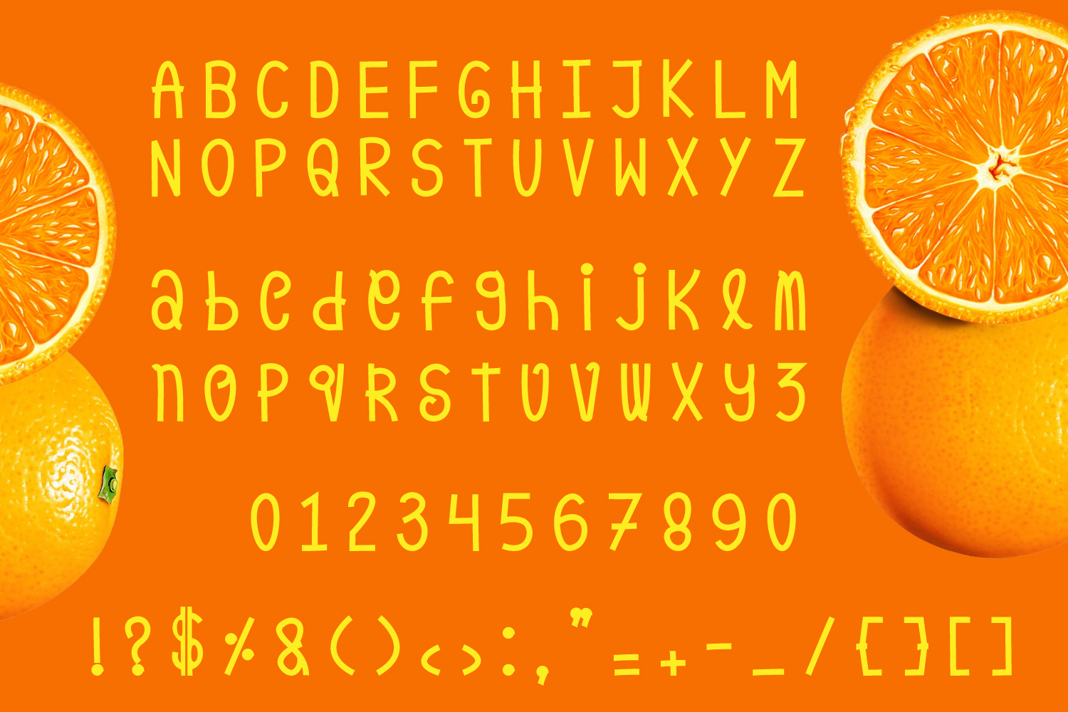 Orange Pulp : Sweet and Tasty Font example image 6