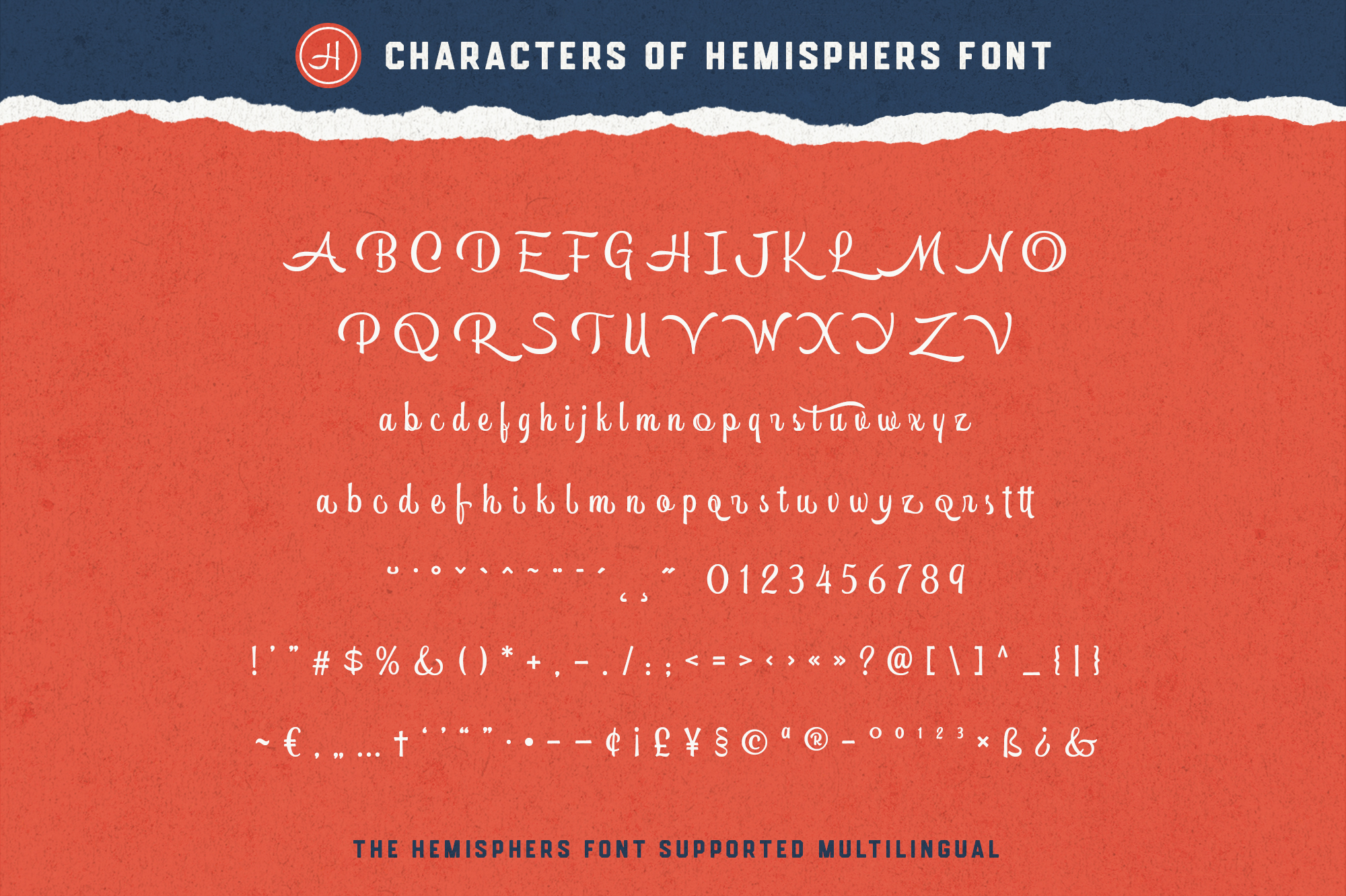 Hemisphers Font Collection example image 14