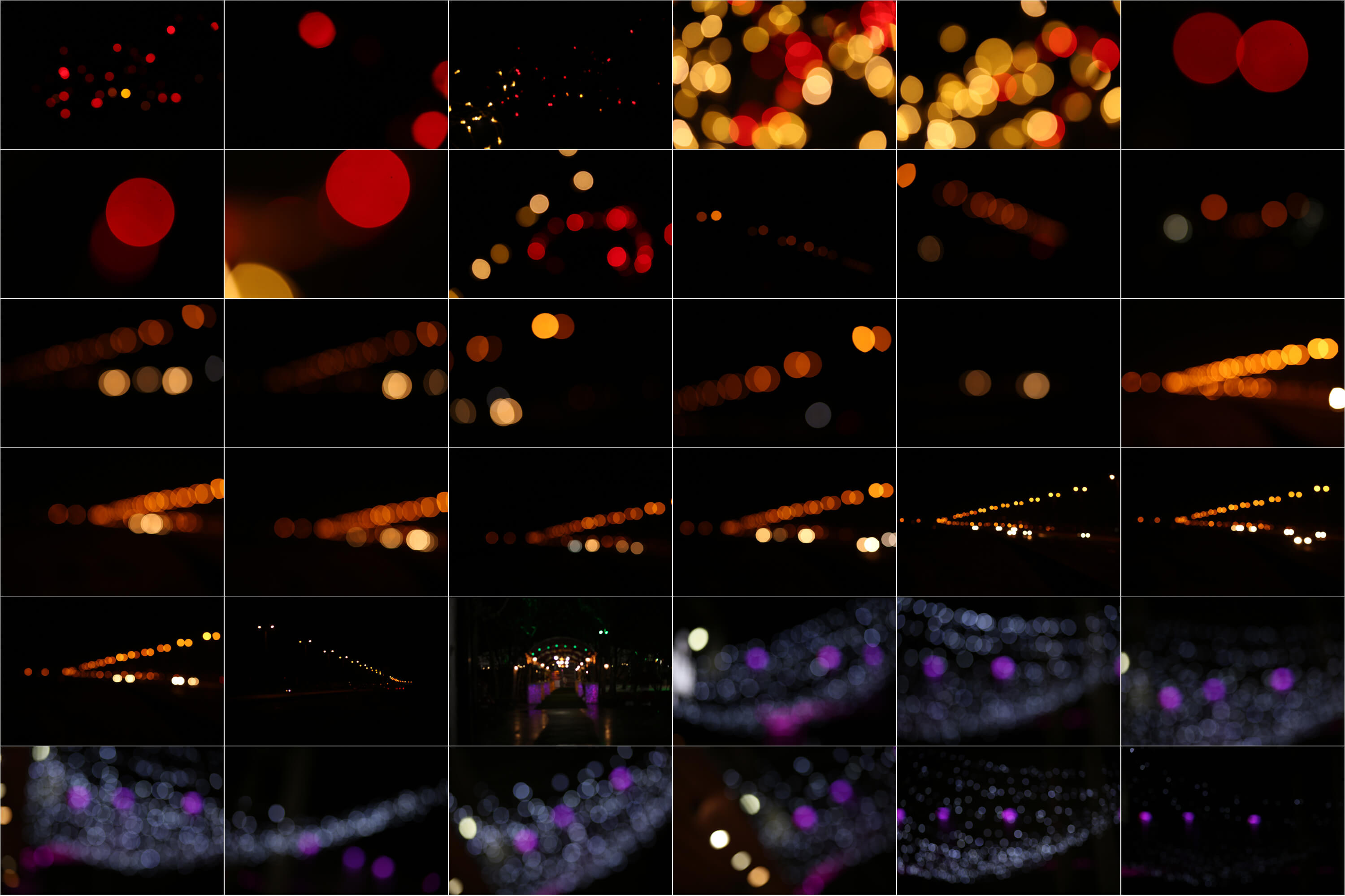 90 Urban Bokeh and lights Effect Photo Overlays example image 7