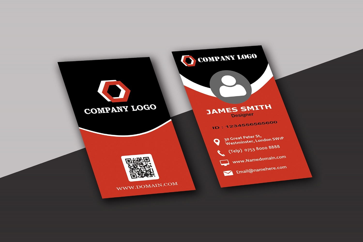 Modern Business Cards example image 8