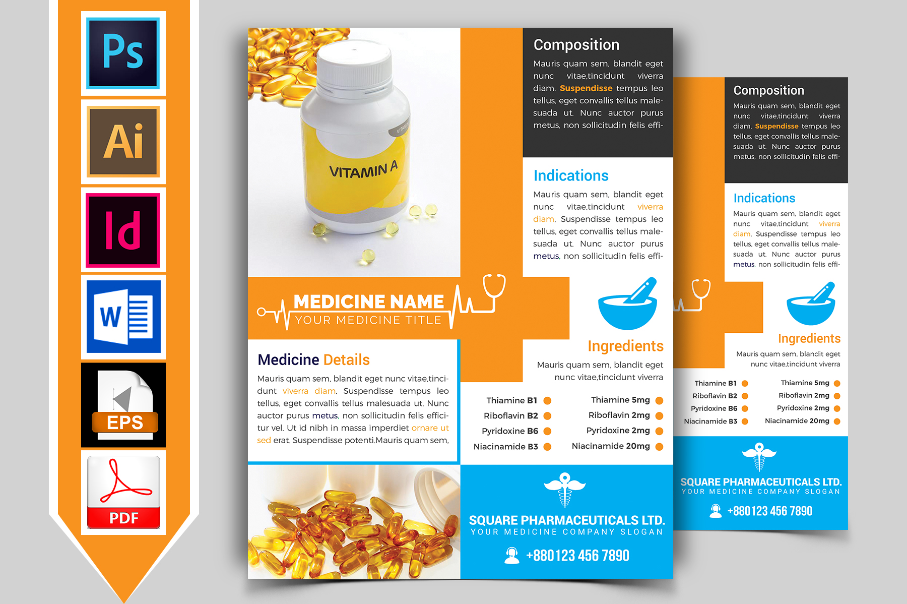 Medicine Promotional Flyer Vol-01 example image 1