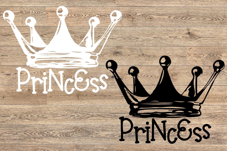 Princess Tiara SVG Fairy Tale Black Girl Magic 1260s example image 2