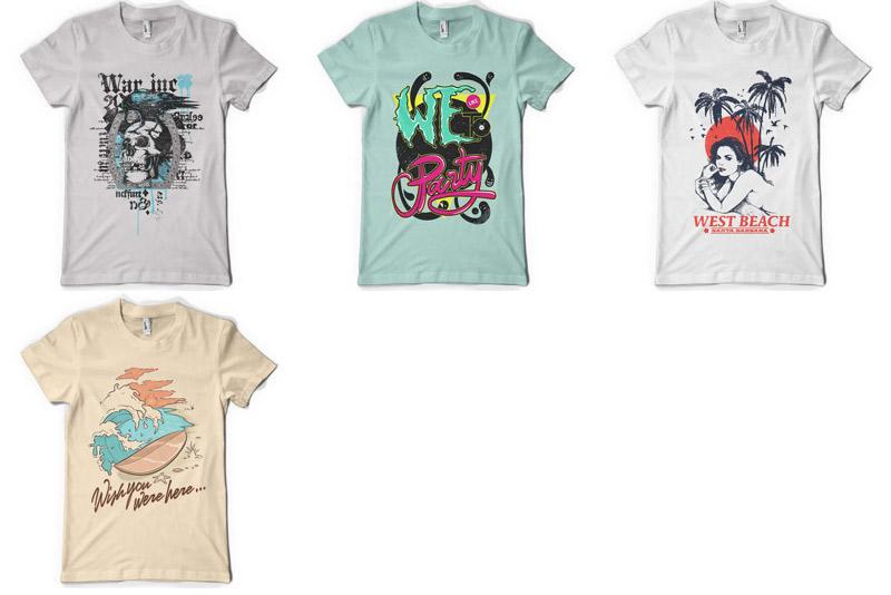 100 Premium T-shirt Designs example image 18
