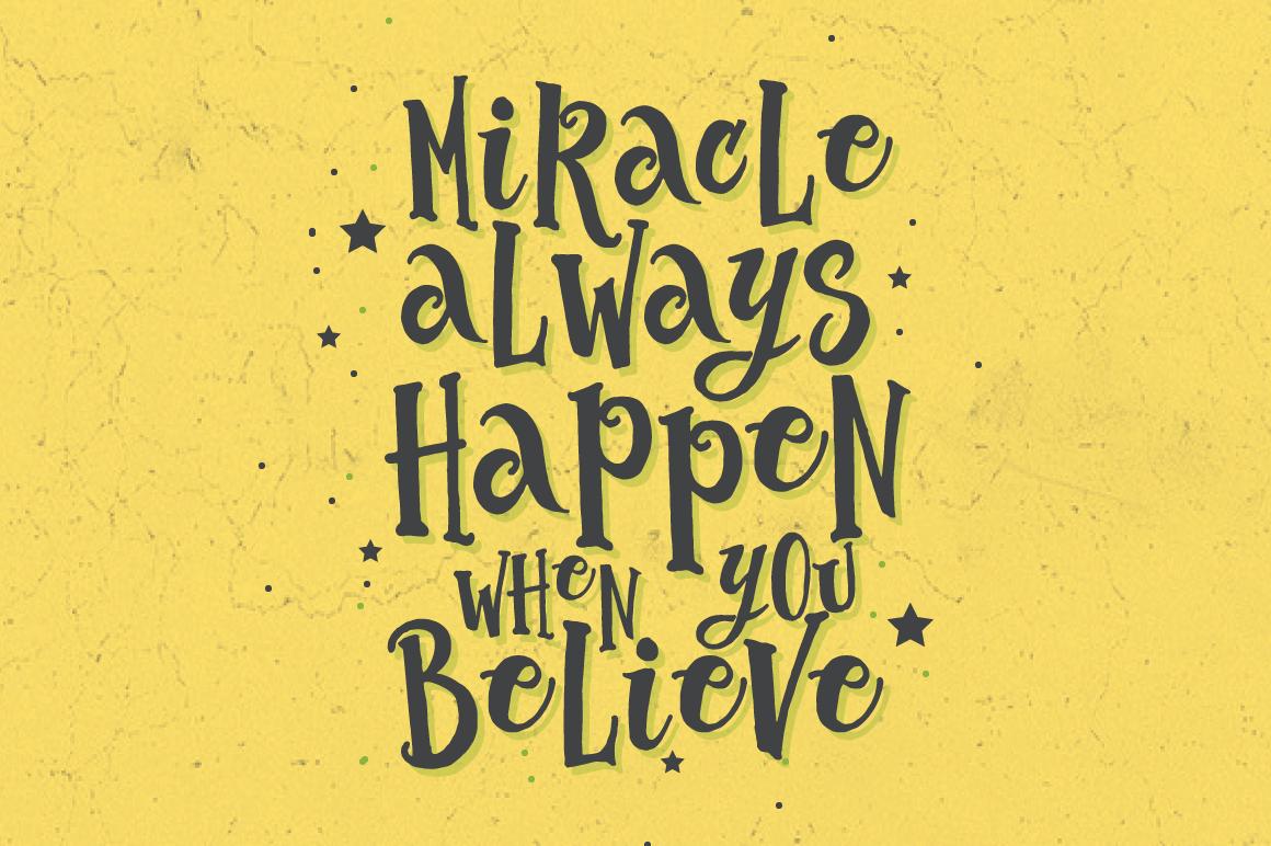 The Abracadabra Typeface example image 3