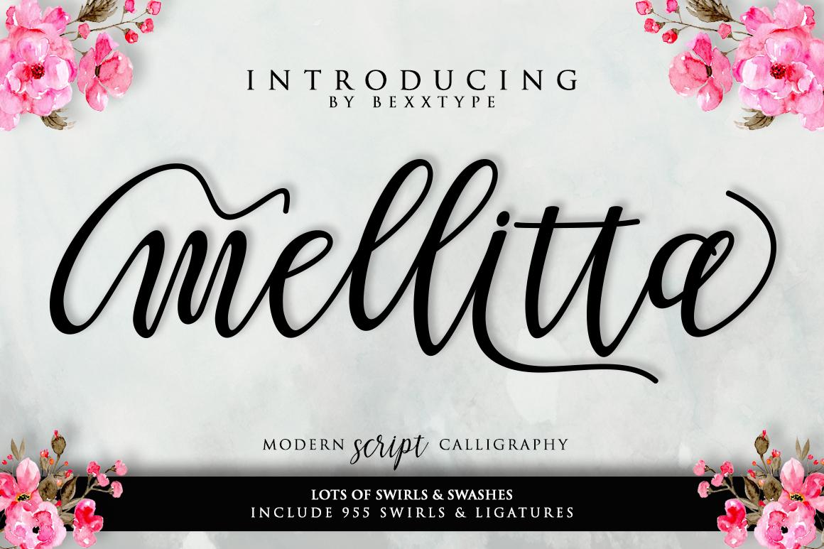 Mellitta Script example image 8