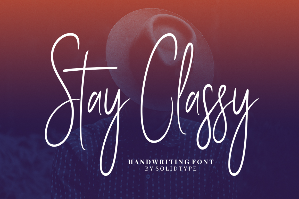 Stay Classy - Font Family example image 1