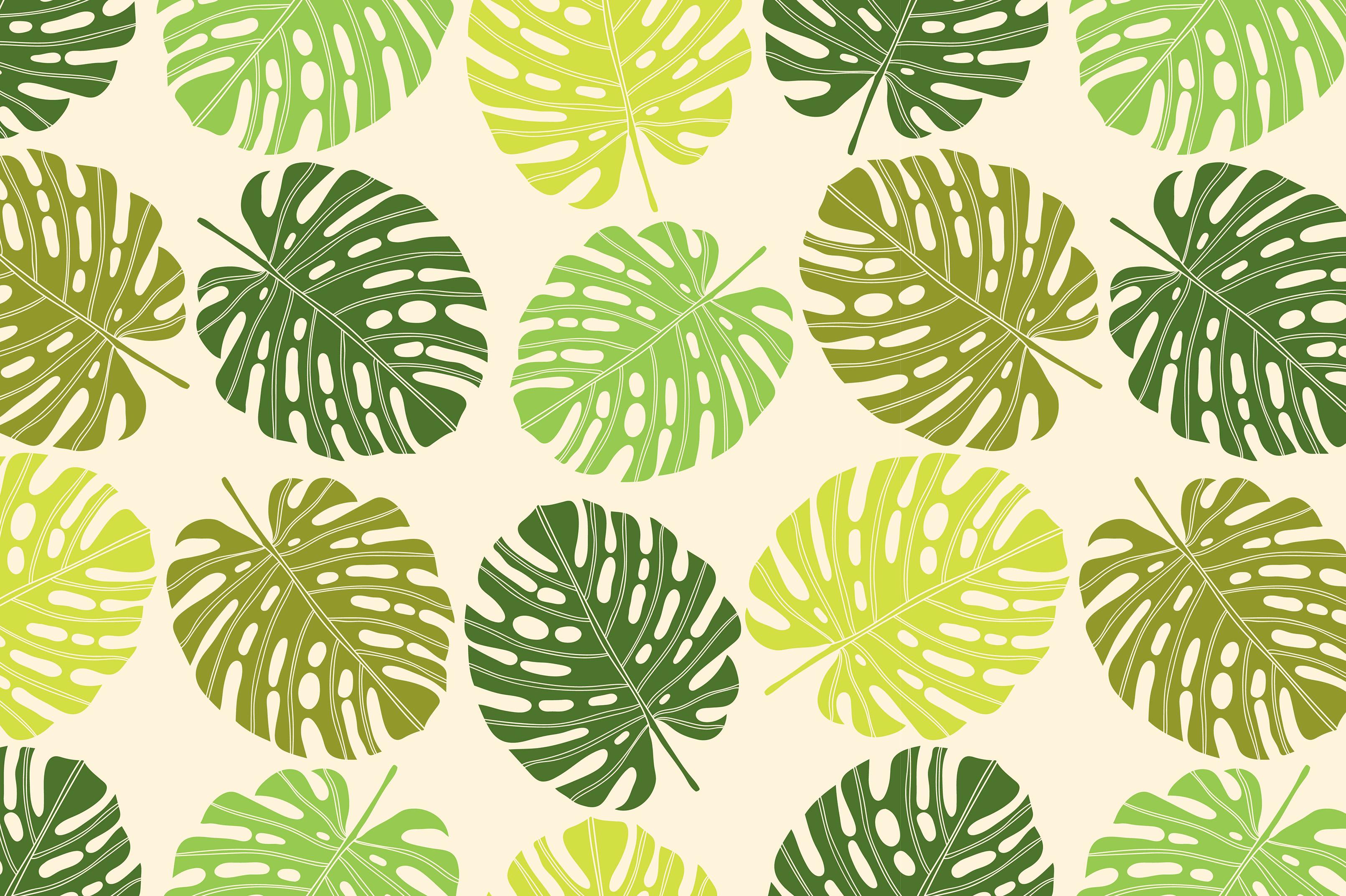 Exotic leaf. Summer mood. example image 8