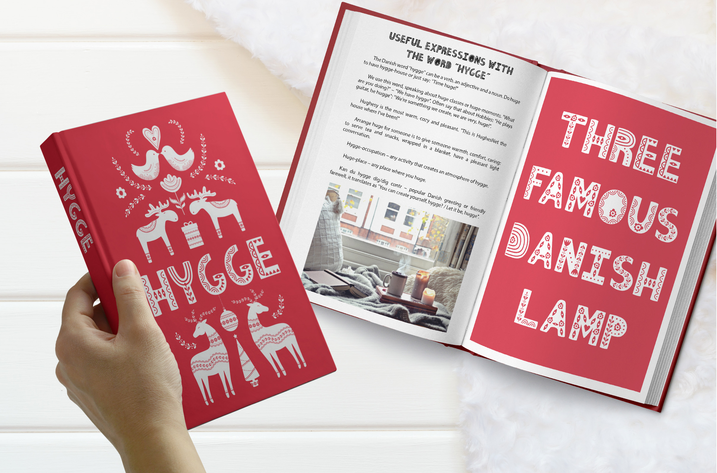 Hygge Scandinavian font example image 5