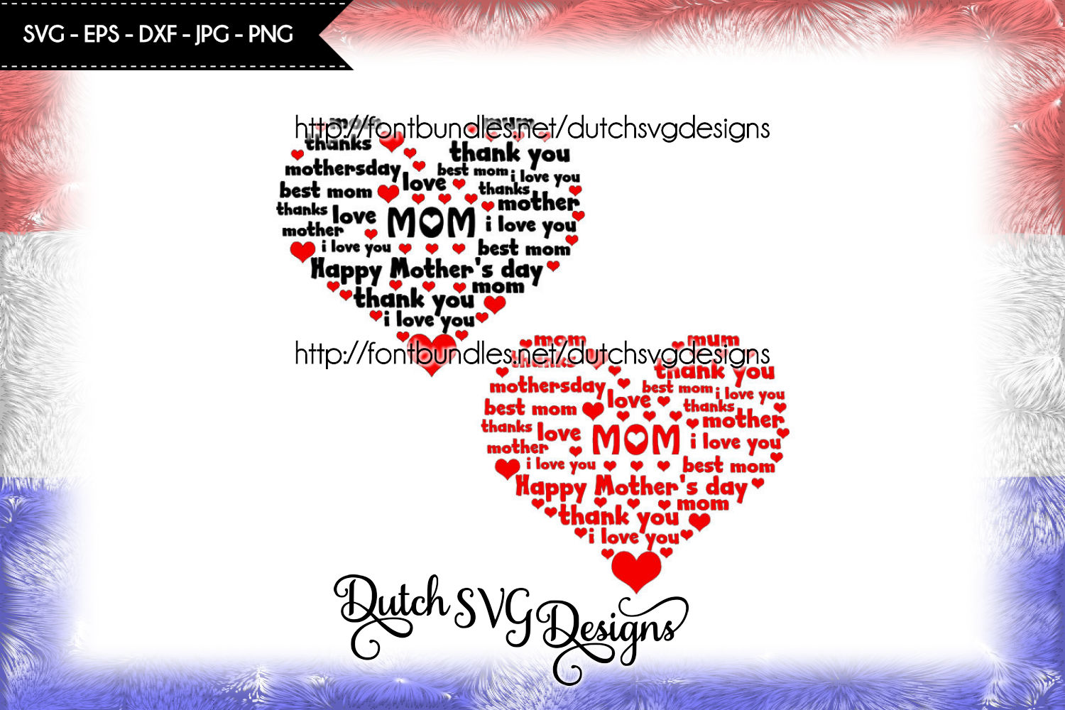 Mom cutting file in heart shape example image 1