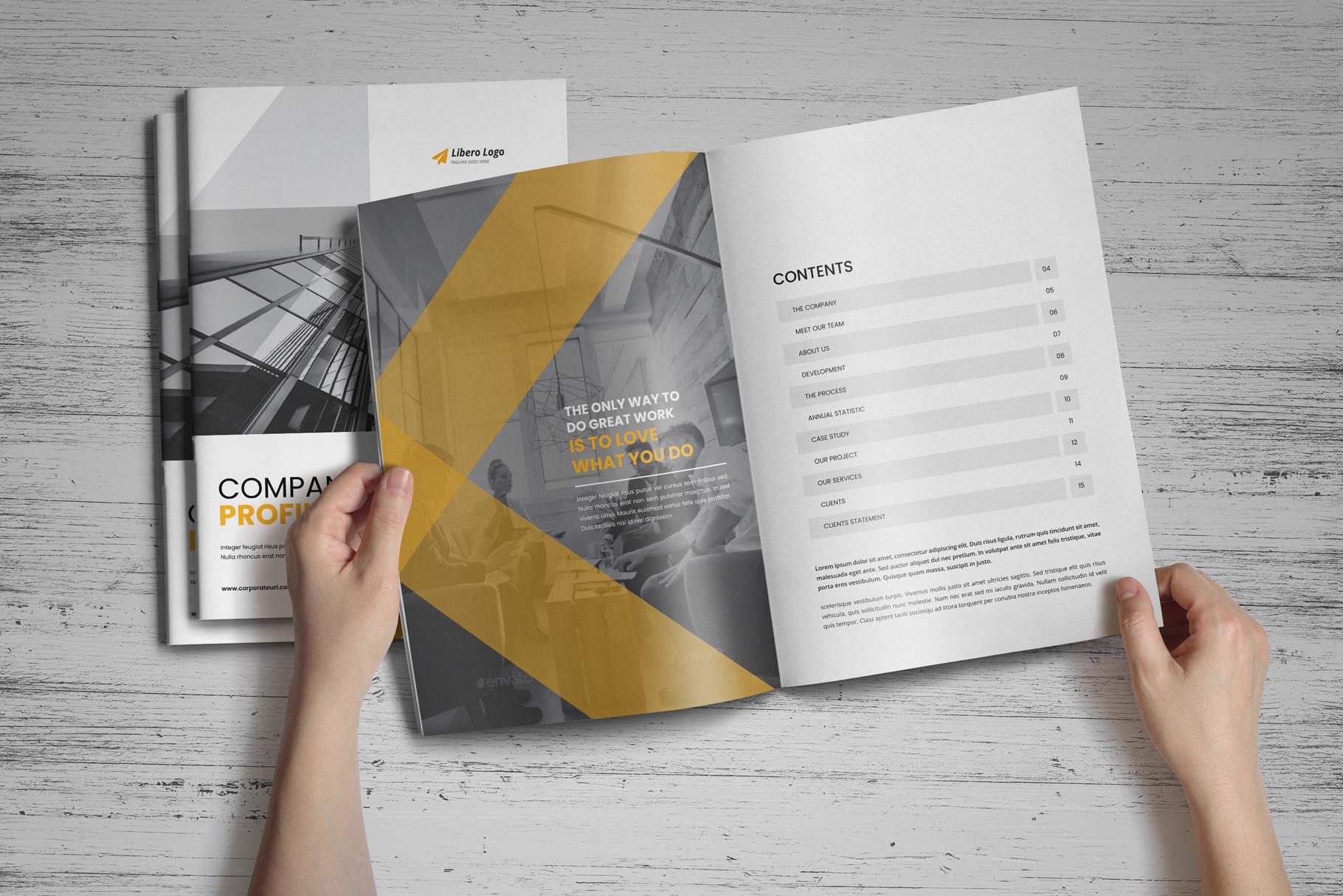 Company Profile Brochure v7 example image 2