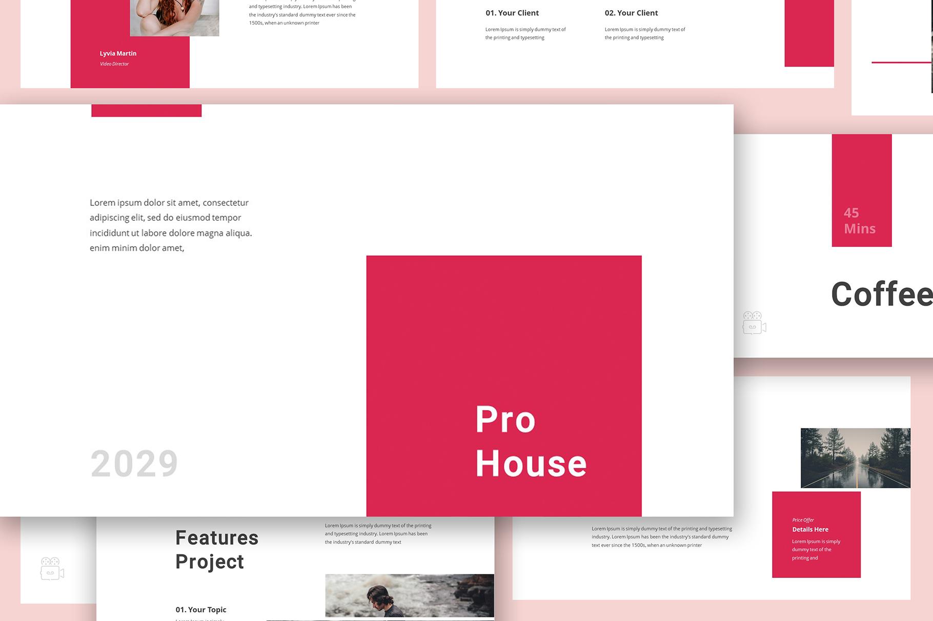 Production House Google Slides example image 4