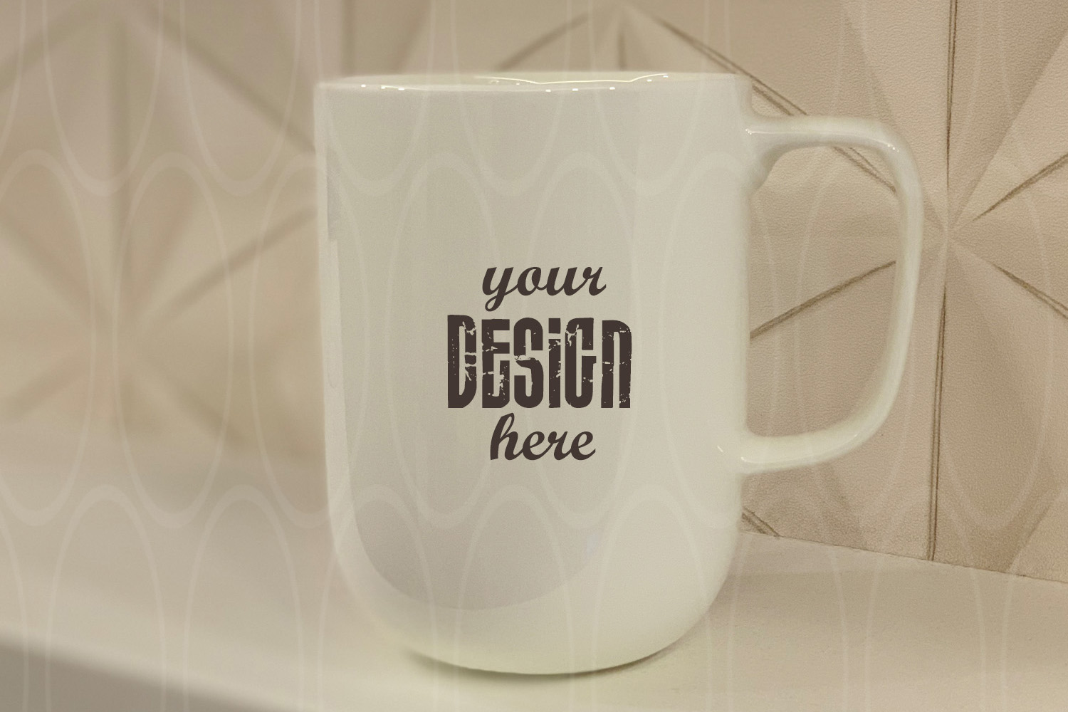 Styled Stock Photo mock up Blank Coffee Glass Cup Mockup example image 1