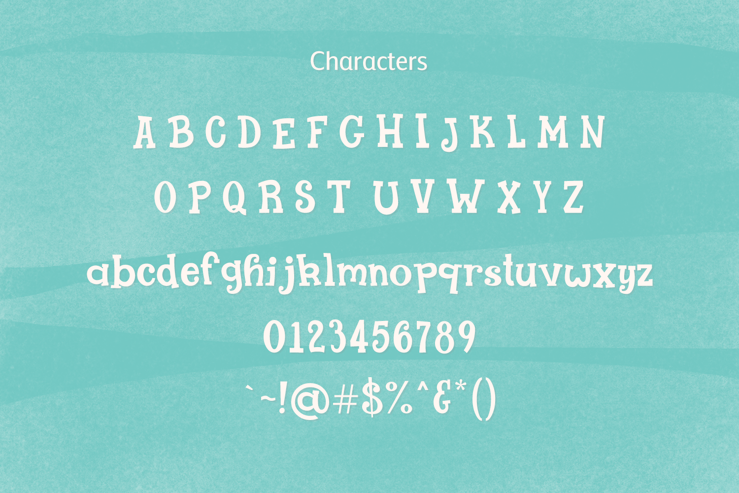 Lolly Gosh - a goofy slab serif font example image 4