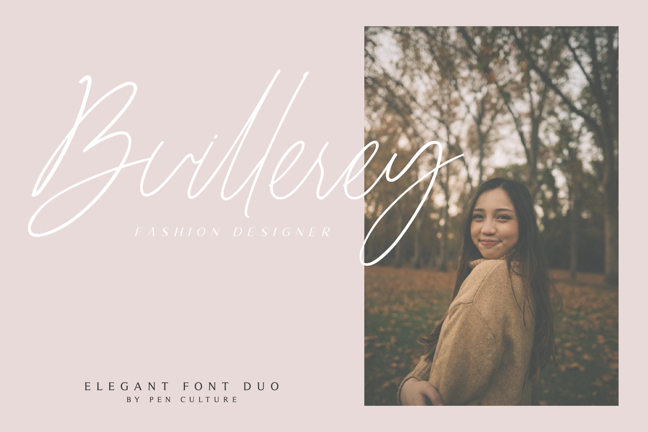 Dellmonte - Elegant Font Duo example image 6