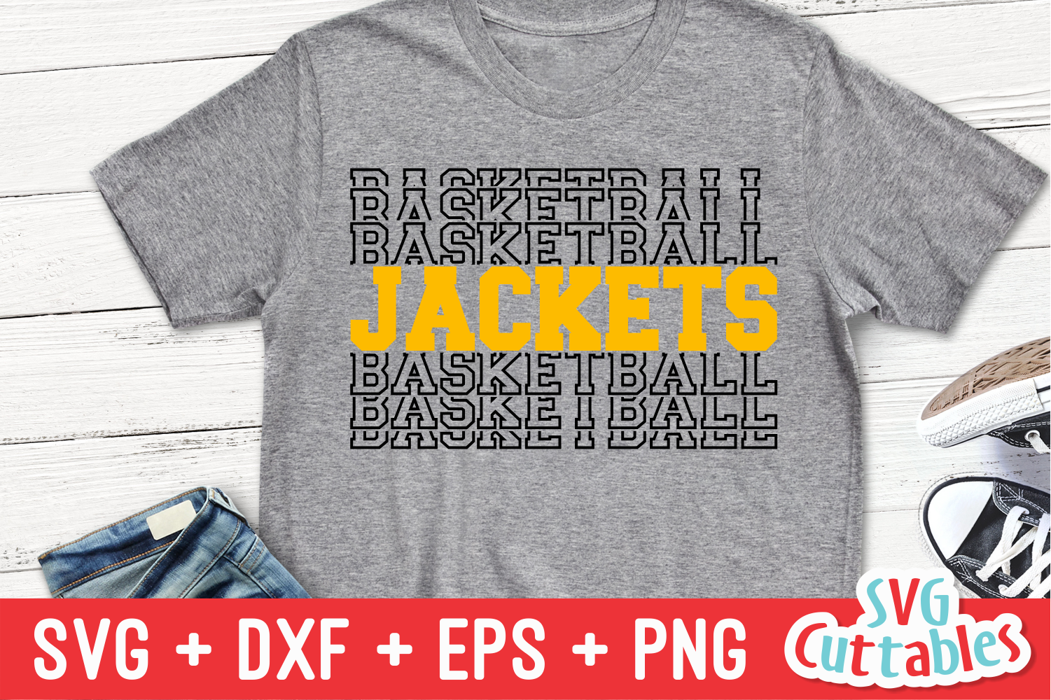 Basketball Template 0041 | Cut File example image 4