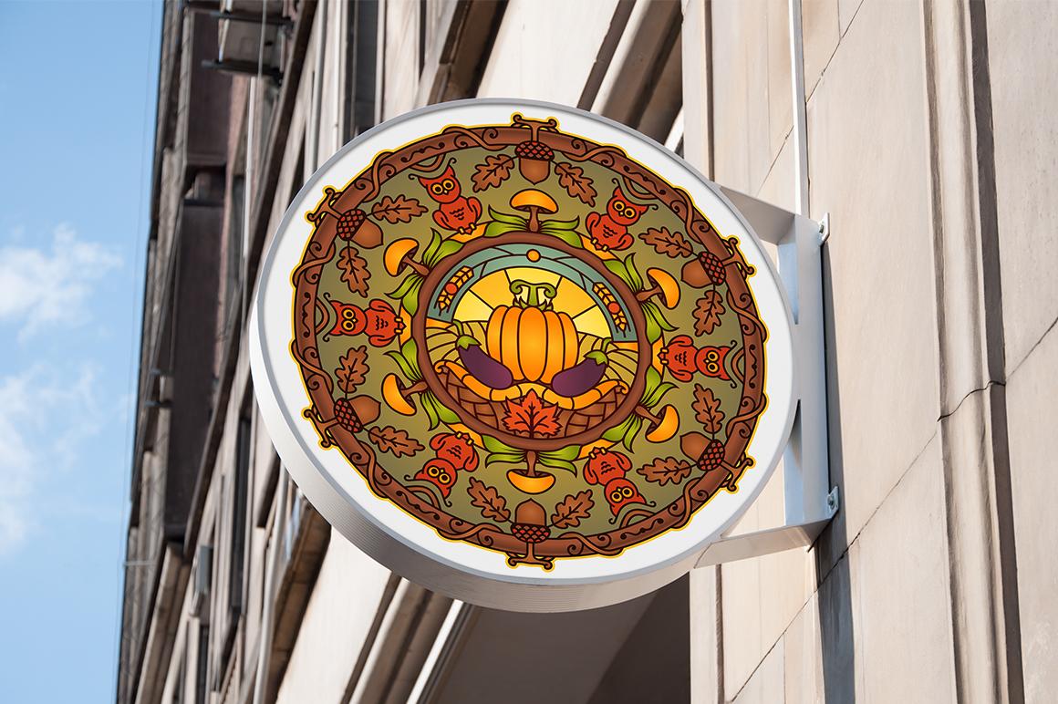 Seasonal and Holiday Mandalas example image 17