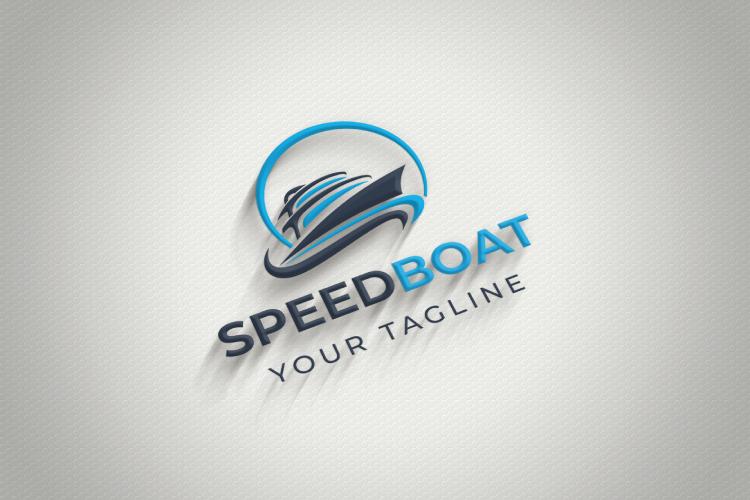 Speed Boat Logo Design example image 3
