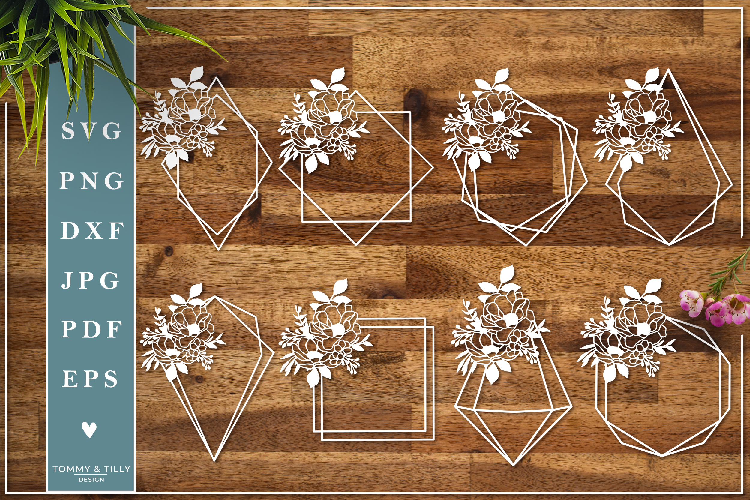 MEGA BUNDLE! Romantic Cut Files - SVG | Papercut example image 21