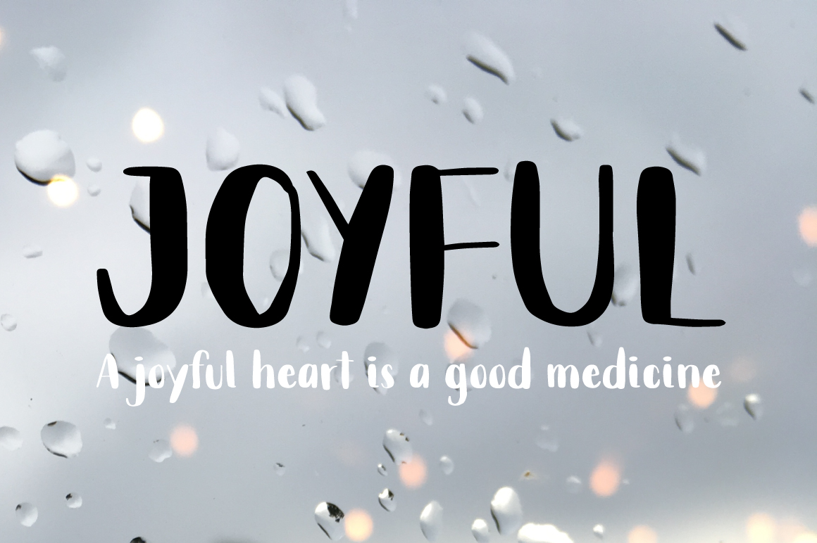 Rainy Day Handwriting Script Font example image 11
