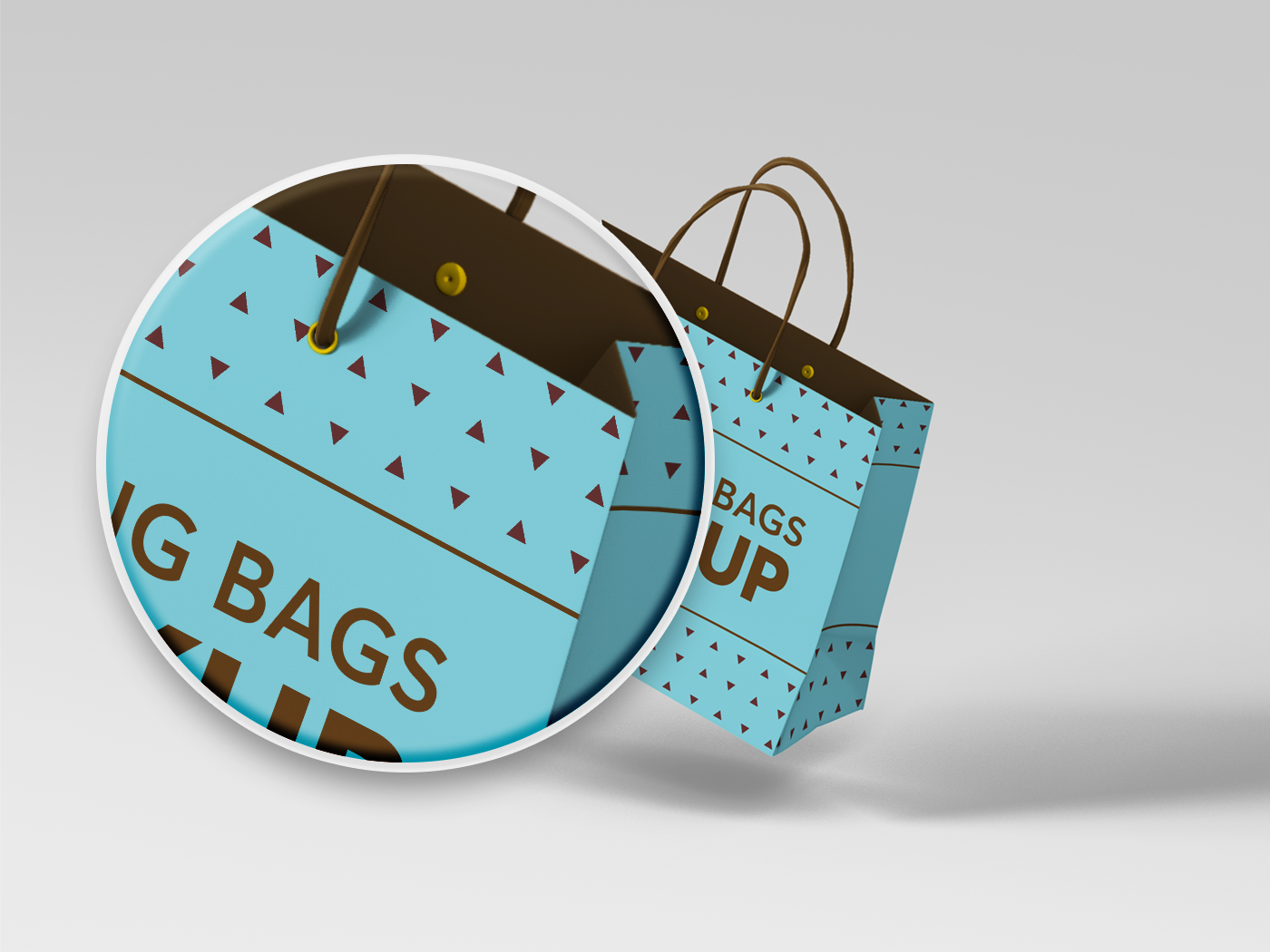 Shopping Bag Mockups V2 example image 16