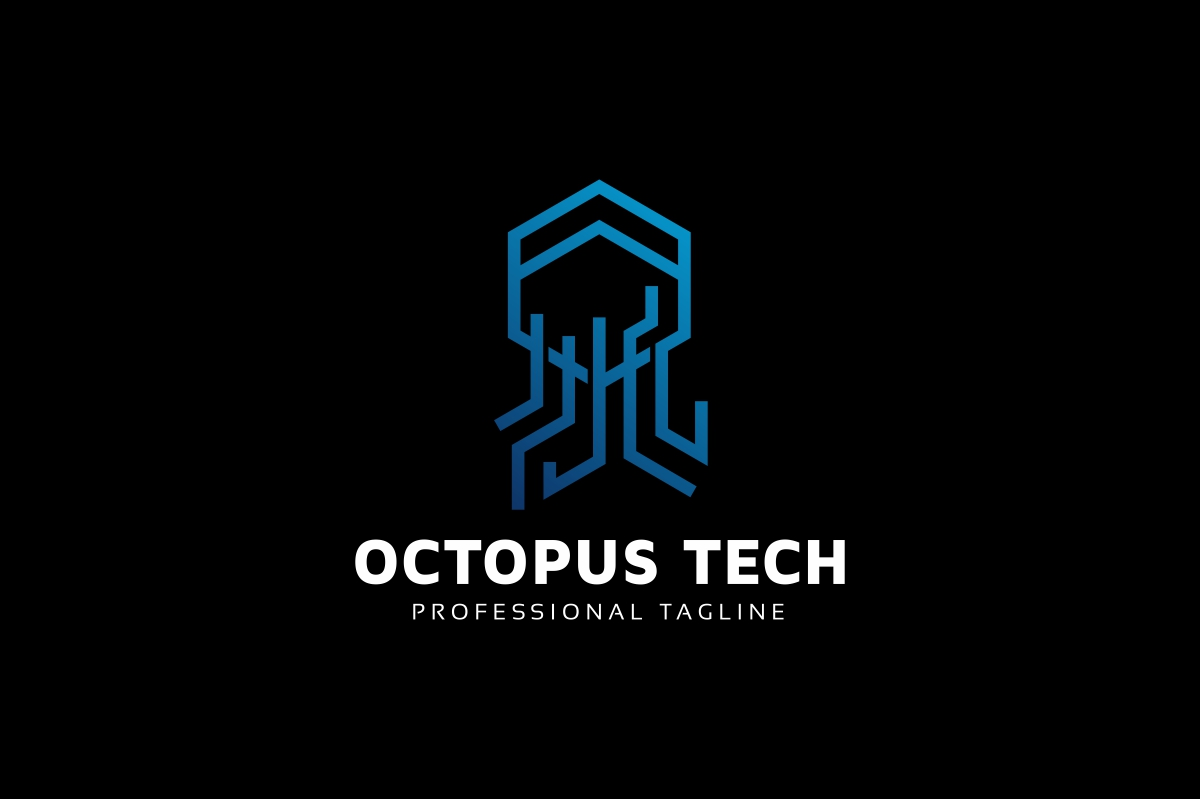 Octopus Tech Logo example image 2