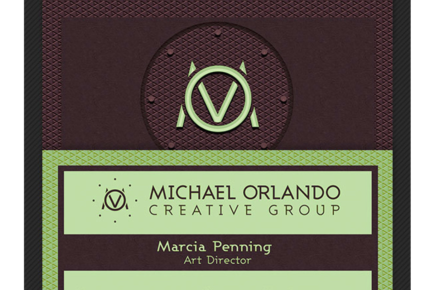 Creative Group Business Card Template example image 5