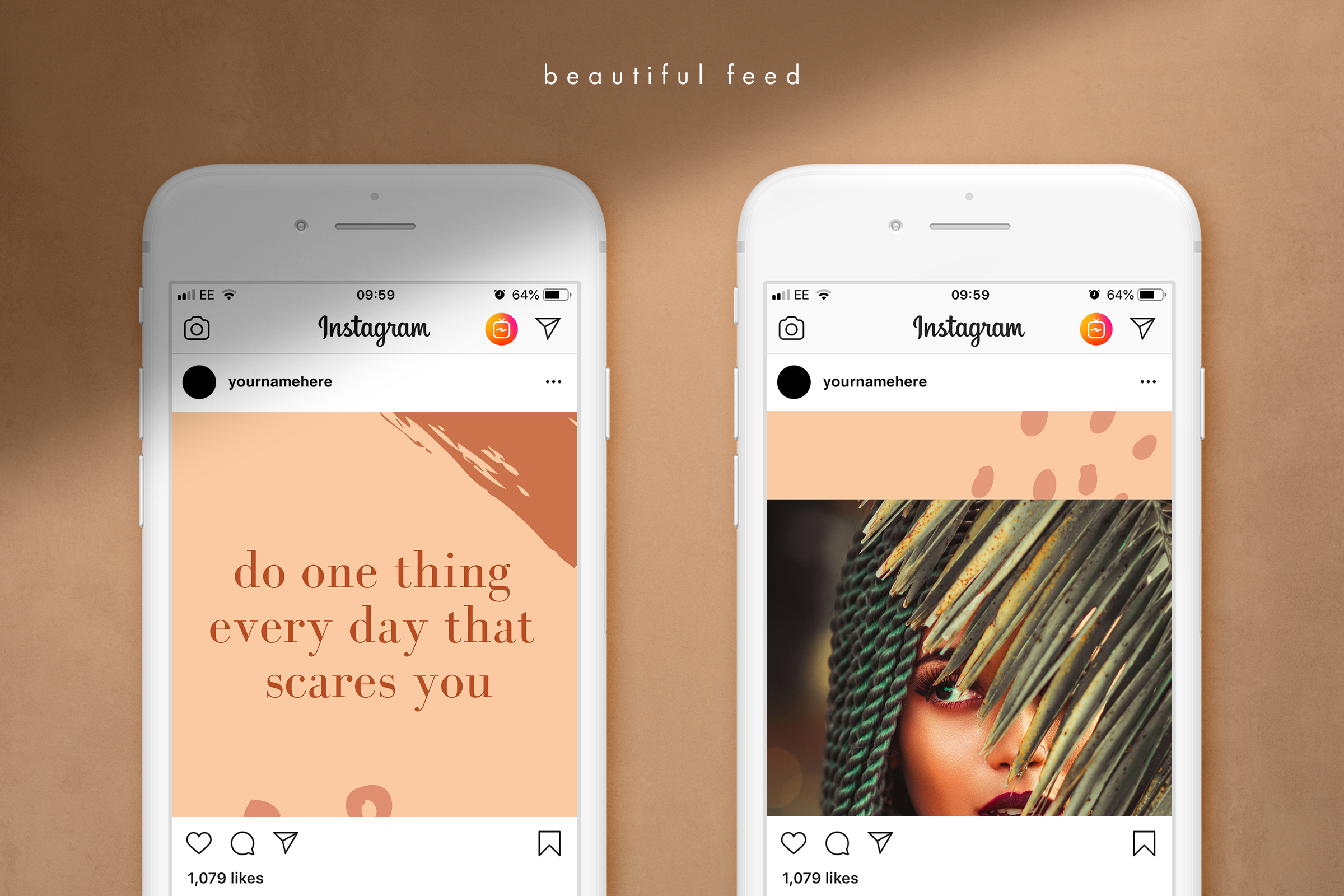 Instagram split grid template for Canva example image 4