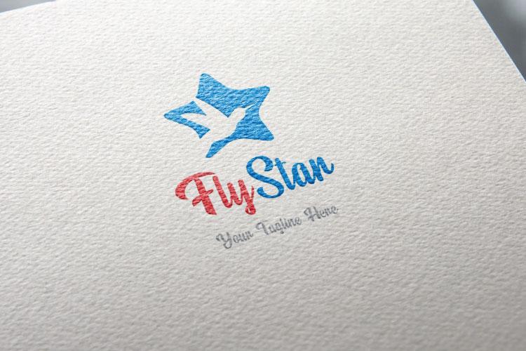 Happy Star, Travel Logo example image 2