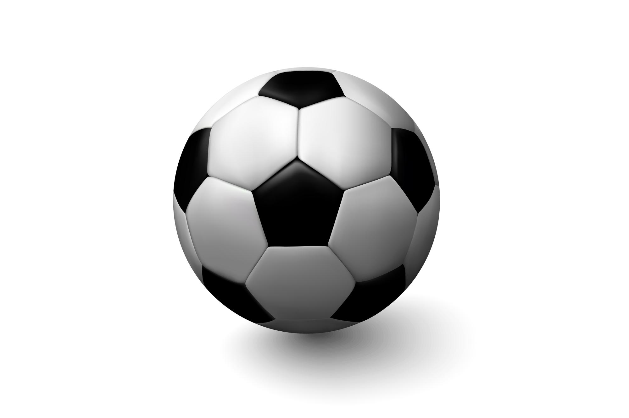 Vector soccer ball. example image 1