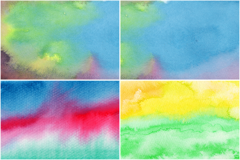 50 Watercolor Backgrounds 05 example image 10