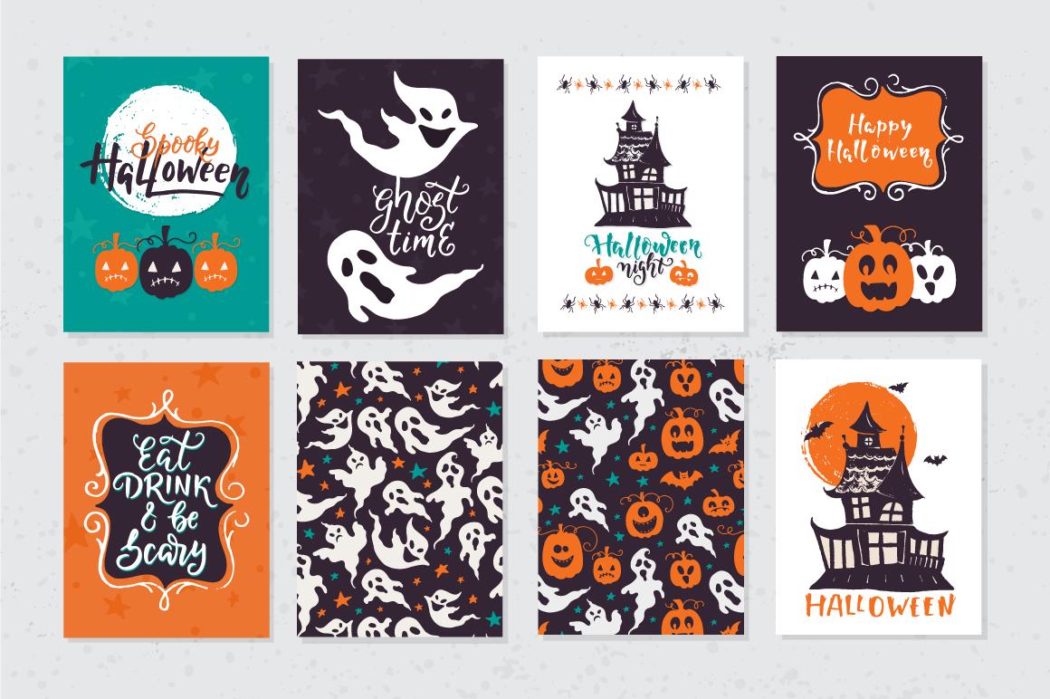Halloween night Mega Pack! example image 9