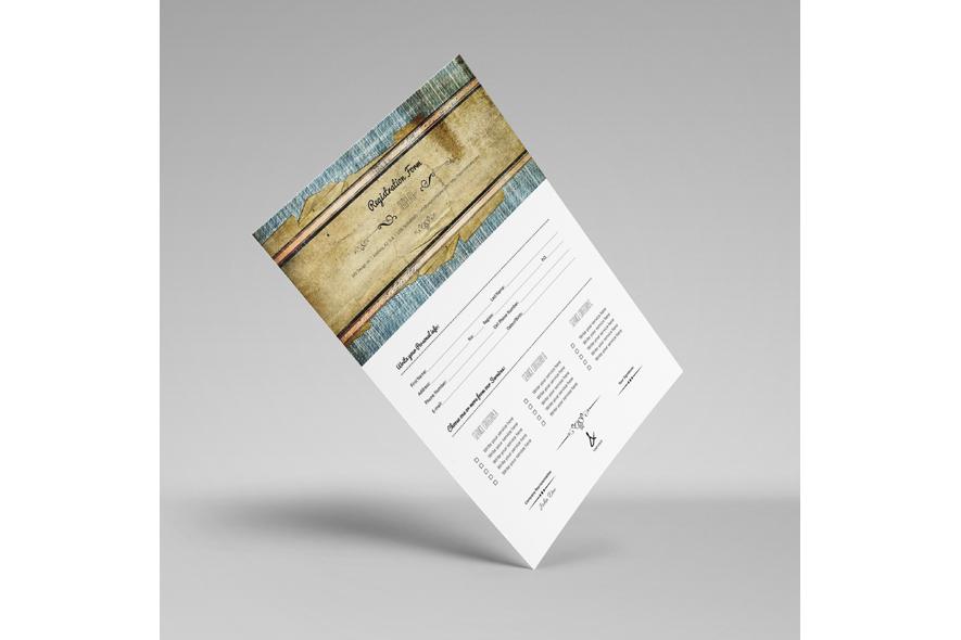 Registration Form Template v11 example image 3