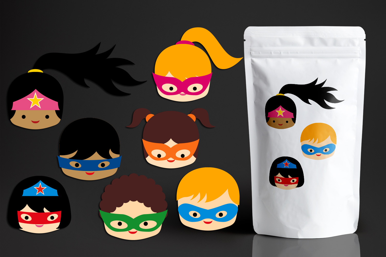 Illustrations Huge Bundle - Superhero Clip Art Graphics example image 22