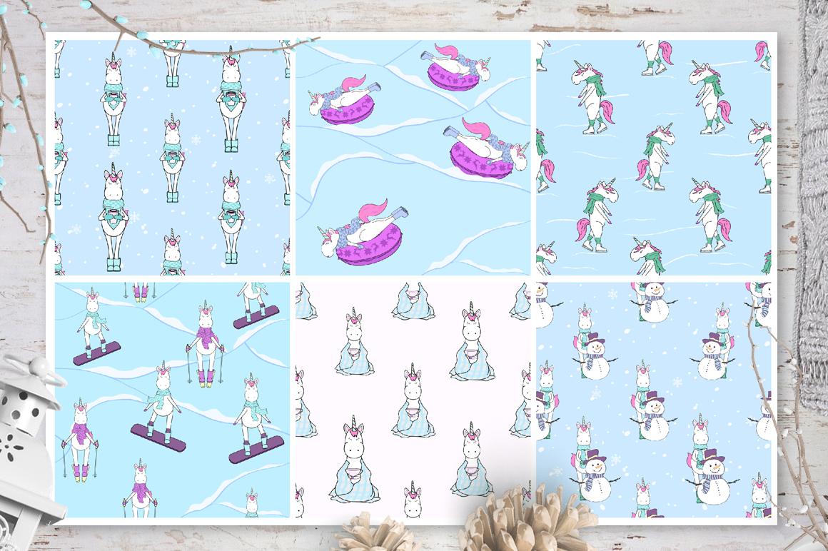 Unicorn's winter  example image 5
